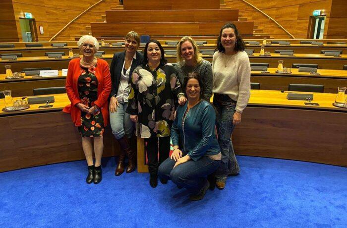Talkshow Internationale Vrouwendag 8 maart Annatheater Helmond
