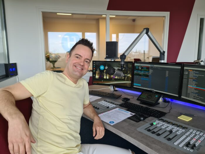 Aaron D On Air op DitisHelmond – Radio
