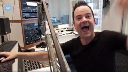Aaron D On air op Omroep Helmond Radio