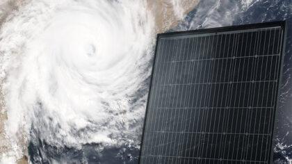 Geavanceerde zonnepanelen van SOLARWATT zijn zelfs orkaanbestendig