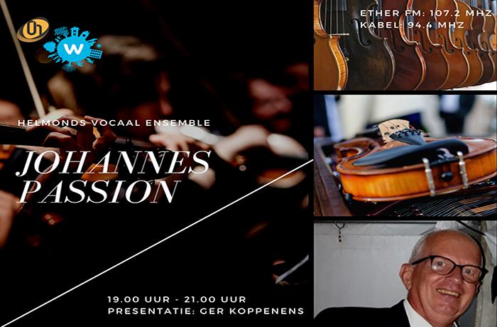 Johannes Passion bij Omroep Helmond Radio op Goede Vrijdag