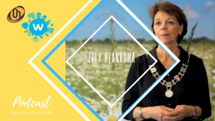 Radiopodcast: burgemeester Elly Blanksma over de coronacrisis