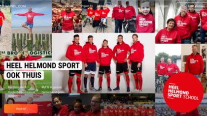 Helmond Sport en JVDI/De Fysioclub lanceren 'Heel Helmond Sport School'