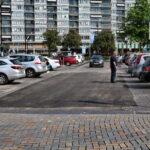 Asfaltlaag in plaats van stenen bij twee ingangen Ameideplein