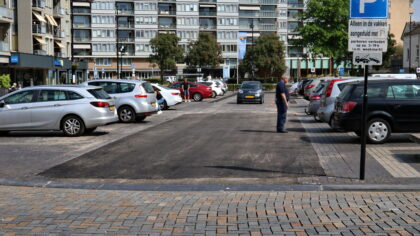 Herstelwerkzaamheden Ameideplein van 19-23 april