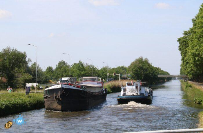 Zuid-Willemsvaart als omleidingsroute Limburgs water