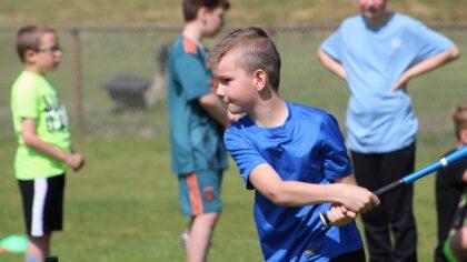 Jibb+ kan eindelijk weer sporten en spelen met de jeugd