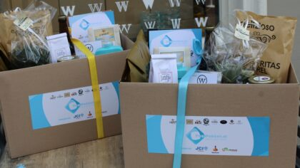 Start verkoop Peelpakketten voor lokale ondernemers
