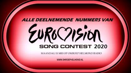 Songfestivalweek op Omroep Helmond radio