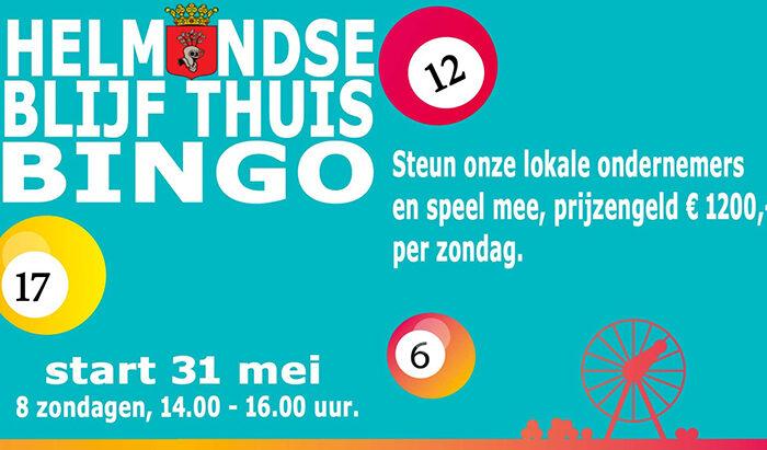 De eerste Helmondse 'Blijf thuis bingo'