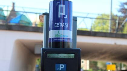 Betaald parkeren bij laadpalen in het centrum
