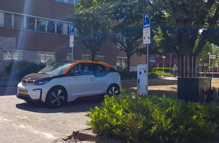 Vanaf 1 juni betaald parkeren bij elektrische laadpunten in het centrum van Helmond