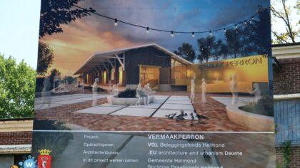 Verbouwing van de oude van Gend en Loos ligt op schema.