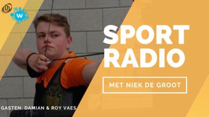 Radiopodcast: Boogschutter Damian Vaes en vader Roy over Olympische ambities