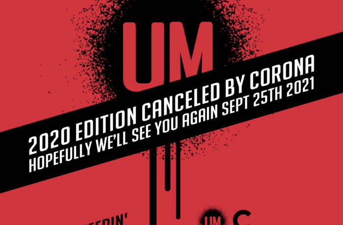 UrbanMatterz editie 2020 geannuleerd