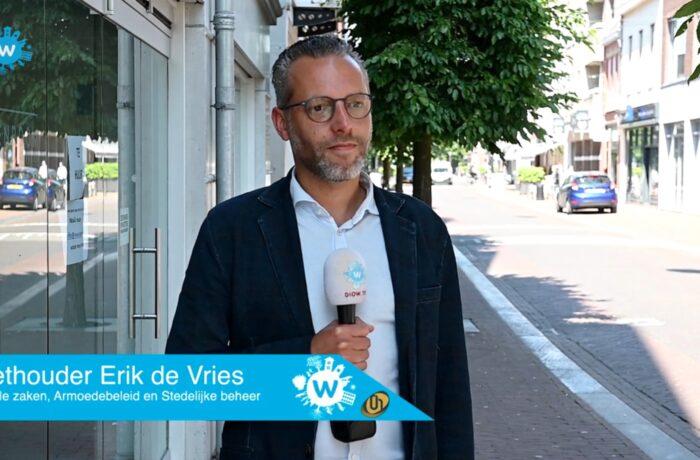 Online op de koffie bij wethouder Erik de Vries