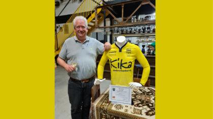 Arjen Vos benoemd tot erelid van RKSV MULO