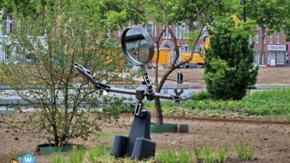 Symbolisch kunstwerk voor het Burgemeester Geukerspark