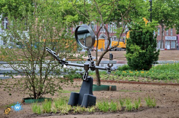 Symboliek kunstwerk voor het Burgemeester Geukerspark