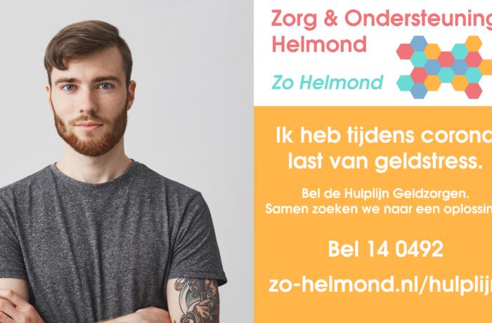 Helmond start een tijdelijke telefonische Hulplijn Geldzorgen.