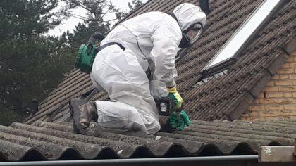 Asbestsanering in Brouwhuis bijna voltooid