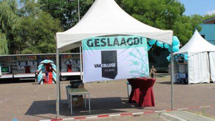 Vakcollege Helmond houdt bijzondere diploma-uitreiking