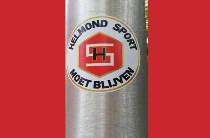 Fanatieke supportersclub van Helmond Sport maakt statement
