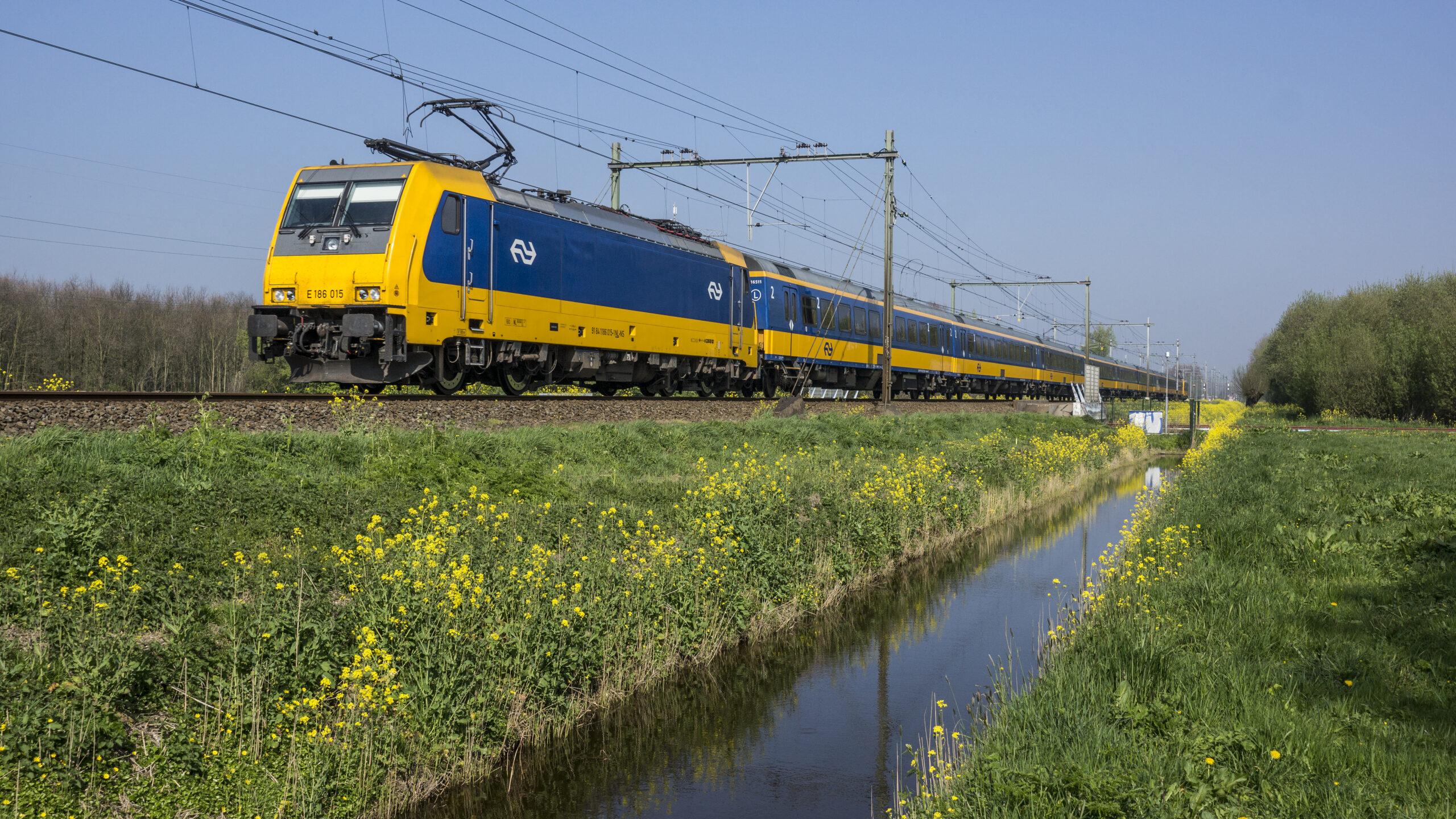 Geen treinverkeer in delen van Oost Brabant & Limburg