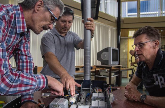 Repaircafé Rijpelberg kan weer aan de slag