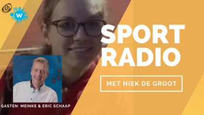 Radiopodcast: Eric en Meinke Schaap bij Sportradio