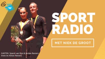 Radiopodcast: Dansschool Reniers bij Sportradio