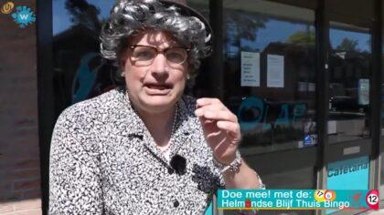 Tante Toos shopt bingokaarten in de Rijpelberg