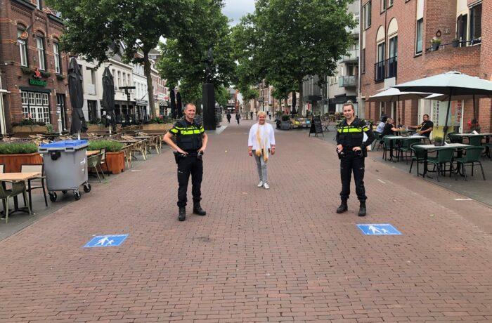 Aandacht voor fiets en bromfietsverbod in centrum Helmond