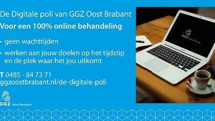 GGZ Oost Brabant gestart met Digitale poli