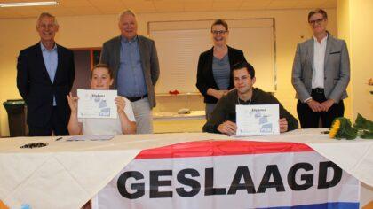 Praktijkschool Helmond reikt voor het eerst een echt diploma uit