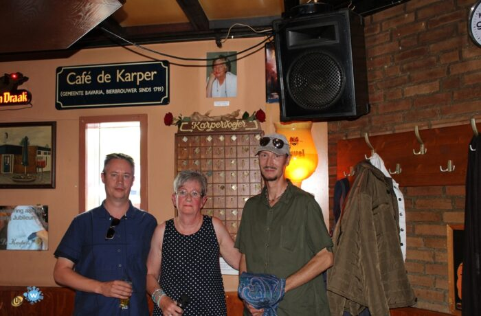 Café de Karper neemt afscheid van 'hun' Annelies