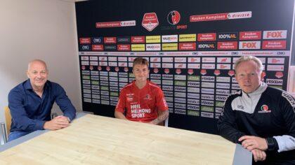 Dean van der Sluijs eerste versterking nieuw seizoen Helmond Sport