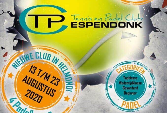 Open Padel Toernooi in Helmond
