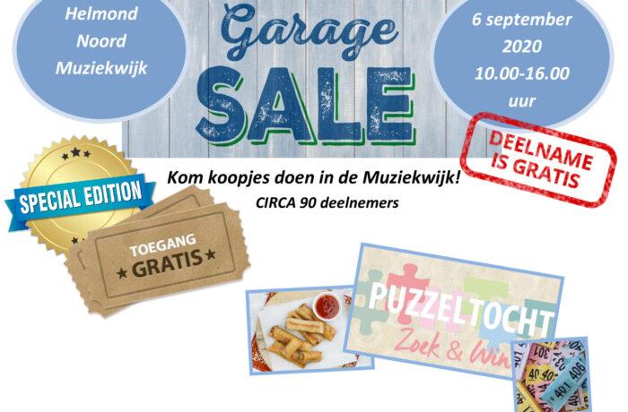 Garagesale Helmond Noord Muziekwijk