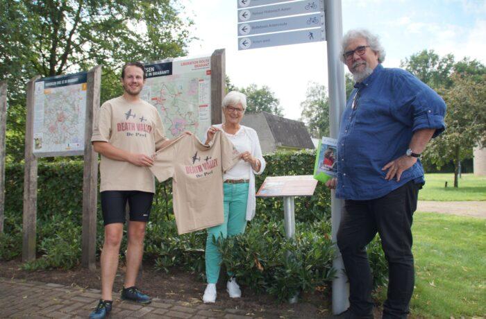 Helmonder Perry Vermeulen fietst 'door WOII'