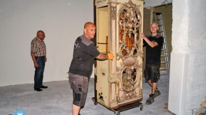 Verhuizing Orgelmuseum in gang gezet vanuit de Gaviolizaal