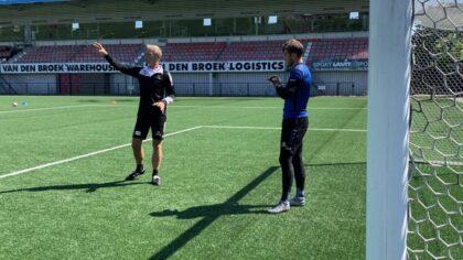 Wim Ribbens nieuwe keeperstrainer van Helmond Sport