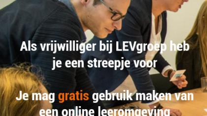 Vrijwilligerswerk bij LEVgroep Helmond biedt veel voordelen