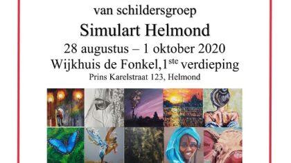 Expositie van schildersgroep Simulart in De Fonkel
