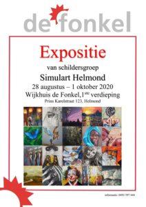 Expositie van schildersgroep Simulart Helmond in De Fonkel @ Wijkhuis De Fonkel | Helmond | Noord-Brabant | Nederland