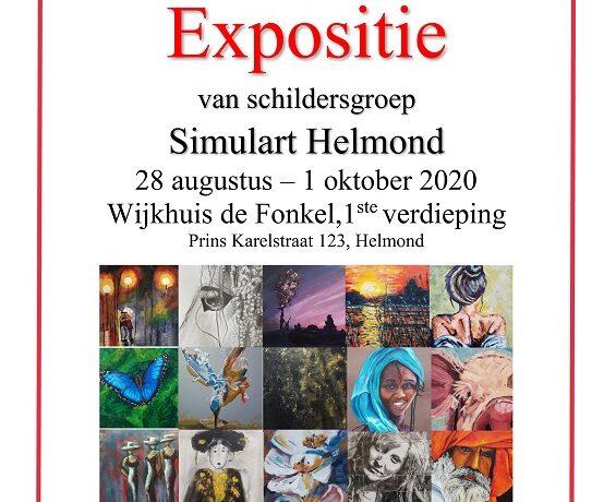 Expositie van schildersgroep Simulart Helmond in De Fonkel