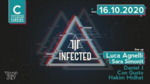 Infected Techno Music Only @ De Cacaofabriek