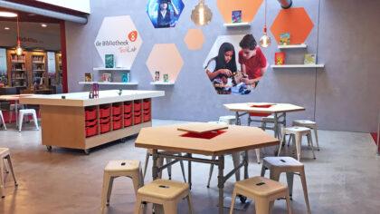 Wethouder opent TechLab Bibliotheek Helmond-Peel