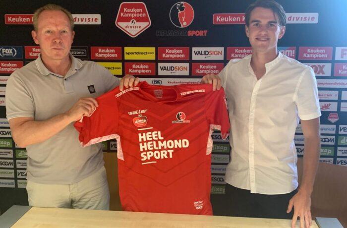 Boyd Reith naar Helmond Sport