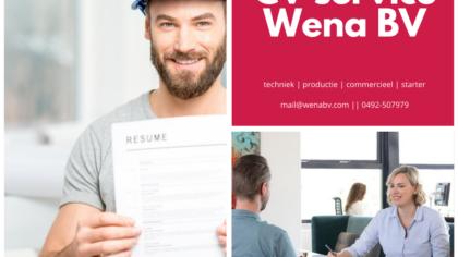 Wena BV: gratis cv service